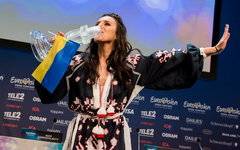Джамала. Фото Anna Velikova (EBU) с сайта eurovision.tv