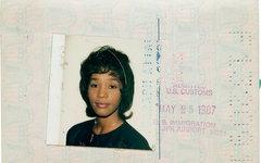 Whitney Houston's US Passport. COURTESY PHOTO