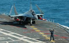 Истребитель МиГ-29КУБ © KM.RU, Пресс-служба «МиГ»