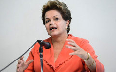 Дилма Руссефф. Фото с сайта dilma.com.br