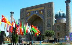 Самарканд. Площадь Регистан. Фото с сайта pixabay.com
