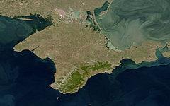 Полуостров Крым. Фото NASA с сайта wikimedia.org