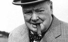 Уинстон Черчиль. Скриншот с Youtube