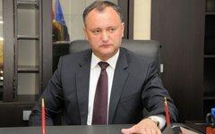 Игорь Додон. Фото с сайта wikimedia.org