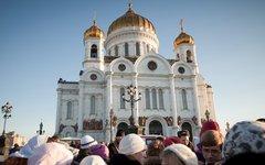 Храм Христа Спасителя © KM.RU