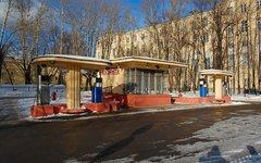 Историческая бензоколонка. Фото Sigwald с сайта ru.wikipedia.org