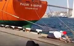 Стоп-кадр видео с личной страницы Ивана Савкина «ВКонтакте»
