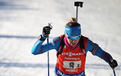 Екатерина Глазырина. Фото с сайта biathlonrus.com