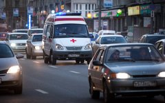Автомобиль скорой помощи © KM.RU