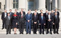 Министры финансов G7 (ближний ряд). Фото с сайта wikipedia.org