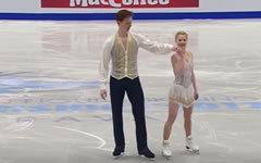 Татьяна Тарасова и Владимир Морозов. Стоп-кадр с видео в YouTube