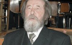 Александр Солженицын. Фото Yuryi Abramochkin с сайта wikipedia.org