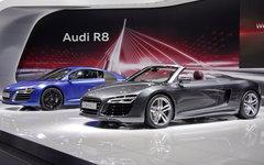 Audi R8 V10 plus и R8 V10 © KM.RU, Кирилл Савченко