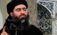 Ибрагим Абу-Бакр аль-Багдади. Стоп-кадр с видео в YouTube