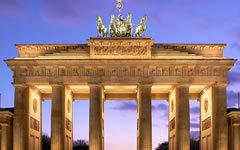 Бранденбургские ворота. Фото с сайта wikipedia.org