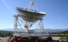 Радиотелескоп РТФ-32. Фото Zukaz с сайта wikimedia.org