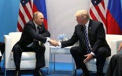 Владимир Путин и Дональд Трамп. Фото с сайта kremlin.ru