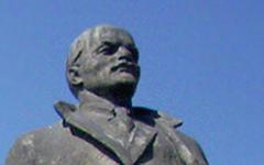 Памятник Ленину. Фото с сайта wikipedia.org