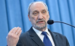 Министр обороны Польши Антоний Мачеревич. Фото с сайта minval.az