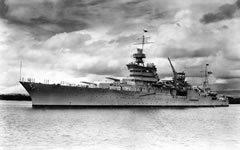 Крейсер «Индианаполис». Фото с сайта wikipedia.org