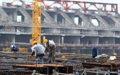 Строительство «Зенит-Арены». Фото Романа Киташова с сайта fc-zenit.ru