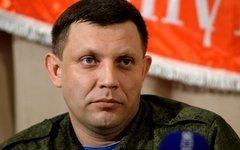 Александр Захарченко. Стоп-кадр с видео в YouTube