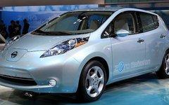 Nissan Leaf. Фото Tennen-Gas с сайта wikimedia.org