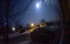 В США около Детройта упал            метеорит