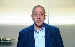 Николай Сванидзе. Стоп-кадр из передачи