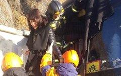 Эвакуация пассажиров во Владивостоке