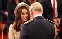 Кира Найтли признана офицером Ордена Британской империи
