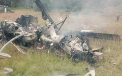 Крушение вертолета в Мексике