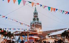 Красная площадь, праздник