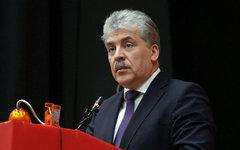 Павел Грудинин. Фото с сайта grudininkprf.ru