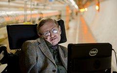 Стивен Хокинг. Фото CERN/Laurent Egli с офстраницы в Facebook