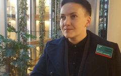 Надежда Савченко. Фото с офстраницы в Facebook