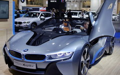 BMW i8 Spyder Concept © KM.RU, Кирилл Савченко