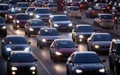 Автомобильная пробка © KM.RU