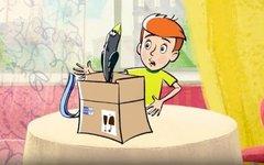 Стоп-кадр из мультфильма  «Возвращения в Простоквашино»