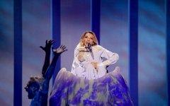 Юлия Самойлова. Фото Andres Putting, eurovision.tv
