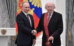 Геннадий Рождественский с Владимиром Путиным. Фото с сайта kremlin.ru