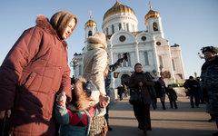 Поклонения поясу Пресвятой Богородицы © KM.RU, Кирилл Зыков