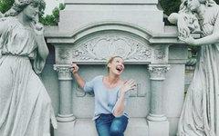 Кэтрин Хайгл, Cтоп-кадр с Lenta.Ru
