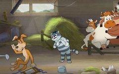 Стоп-кадр из мультфильма  «Возвращение в Простоквашино»