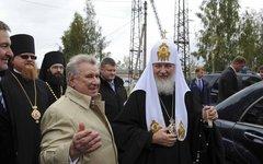 Евгений Пархаев и Патриарх Кирилл. Фото с сайта parhaev.com