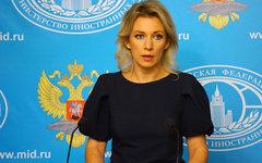 Мария Захарова. Фото с сайта wikimedia.org