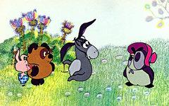 Стоп-кадр из мультфильма о Винни-Пухе