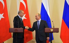 С Президентом Турецкой Республики Реджепом Тайипом Эрдоганом