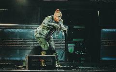 Вокалист группы Rammstein снимает клип на «Ленфильме»