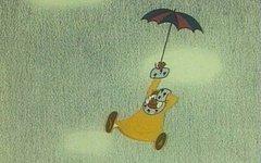Пятилетний мальчик прыгнул с балкона с зонтом, подражая герою мультфильма